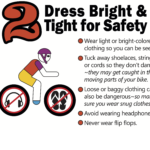 Dress bright & tight poster